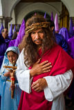 Good Friday procession in Quito, Ecuador Royalty Free Stock Images