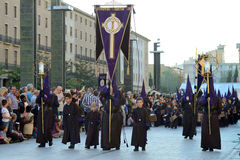 Good Friday procession, Spain Stock Image