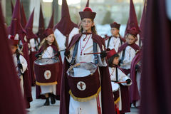 Good Friday procession, Spain Royalty Free Stock Photography