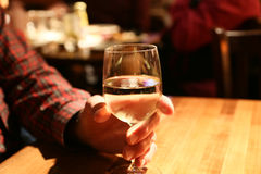 A Good Glass of Wine Royalty Free Stock Photography
