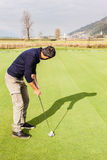 Good golf shot Stock Image