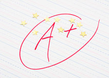 Good Grades Royalty Free Stock Images