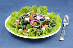 A good greek Salad Stock Image