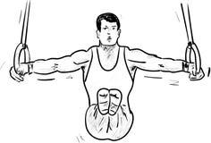 Gimnastika Royalty Free Stock Images