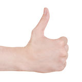 Good hand gesture Royalty Free Stock Photos