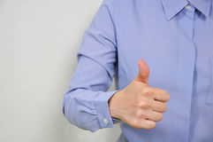 Good hand sign. Stock Photography