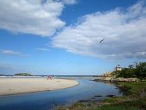 Good Harbor Beach, Gloucester, Massachusetts Royalty Free Stock Images