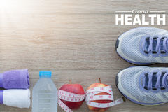 Good Health concept. Healthy lifestyle for background.  royalty free stock photos