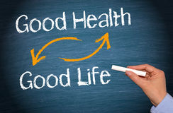 Good Health and Good Life royalty free stock image