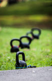 Good health starts with exercise. royalty free stock photography