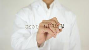Good Health, Written on Glass Stock Photos