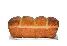Good home-made brioche Stock Photo