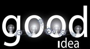 Good idea background Royalty Free Stock Photography