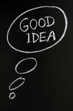 Good idea concept Stock Photo