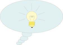 Good idea. Lamp. Vector illustration: Good idea. Lamp Stock Images