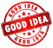 Good idea stamp Stock Images