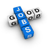 Good jobs Royalty Free Stock Images