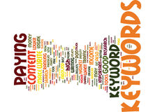 Good Keywords Are Crucial To Adsense Success Word Cloud Concept Royalty Free Stock Photos