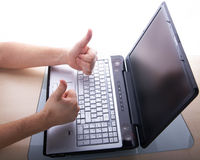 Good laptop times Royalty Free Stock Images