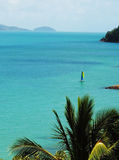 The good life. A tropical getaway,Whitsunday island, Queensland, Australia Stock Image