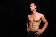 Good looking athlete Royalty Free Stock Photos