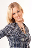 Good-looking casual blonde Royalty Free Stock Photo