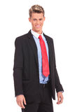 Good looking casual young businessman Stock Photo