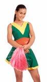 Good-looking Cheerleader Royalty Free Stock Images