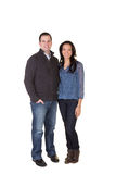 Good looking couple Royalty Free Stock Photo