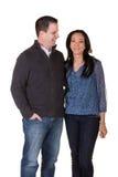 Good looking couple Stock Photo