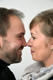 Good looking loving  couple Royalty Free Stock Photography