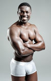 Good looking muscular man Stock Photo