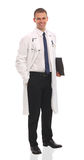 Good looking young doctor. Looking at camera Royalty Free Stock Photo