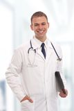 Good looking young doctor Stock Photography