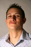 Good Looking Young Man Sneer Stock Image