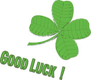 Good Luck !. Good Luck - a vector illustration royalty free illustration