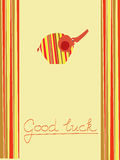 Good luck background Stock Images