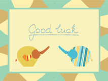 Good luck background Royalty Free Stock Image