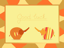 Good luck background Royalty Free Stock Photo