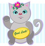 Good Luck Cat Stock Photography