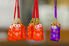 Good luck Charm at Ryoanji Temple in Kyoto Stock Photography