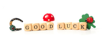 Good luck concept image Royalty Free Stock Image