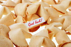 Good luck! - fortune cookies Stock Images
