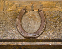 Good luck horseshoe Stock Images