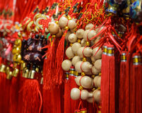 Good luck item for Chinese New Year. Good luck item for sale in a market during Chinese New Year festival in Thailand