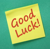 Good Luck Message Stock Photos