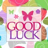 Good Luck Random Colorful Circles Royalty Free Stock Photos