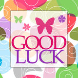 Good Luck Random Colorful Circles Royalty Free Stock Photos