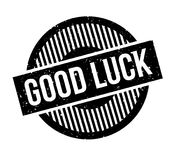 Good Luck rubber stamp Stock Photo