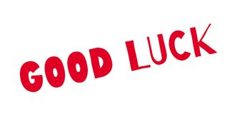 Good Luck rubber stamp Stock Photos